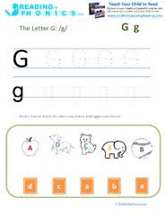 See our extensive collection of esl phonics materials for all levels, including word lists, sentences, reading passages, activities, and worksheets! Learning Letter G And Its Phonics Sound With Printable Activity Sheets