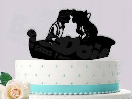 Small Picture Ariel and Eric Boating Love Event Wedding Cake Topper Bee3dgifts