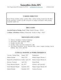 Sample Nursing Resume New Grad New Nurse Resume Template New Grad