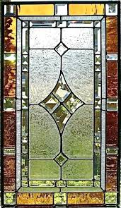 stained glass stained glass panel patterns free panels side door magic for doors geometric