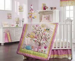 baby nursery owl baby crib bedding pink paisley baby bedding sets