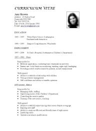 6 Cv Samples For Teaching Job Emmalbell
