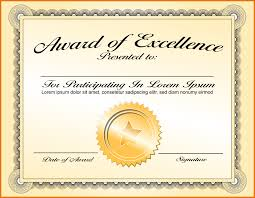 Recognition Awards Certificates Template Formples Blank Award Certificate Template Of Recognition Format Melo