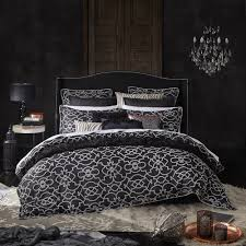 Istanbul Black Quilt Cover Set by Davinci & Davinci Istanbul Black Quilt Cover Set Adamdwight.com