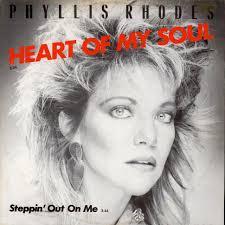 "Phyllis Rhodes - Heart Of My Soul / Steppin' Out On Me - Vinyl 12"" - 1986 -  DE - Original | HHV"
