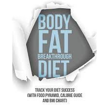 Body Fat Breakthrough Diet Track Your Diet Success With Food Pyramid Calorie Guide And Bmi Chart