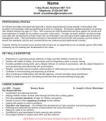 Child Care Resume Template Mesmerizing Child Care Resume Sample JmckellCom