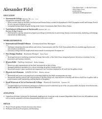 Sample Resume Format Pdf Resume Template Brilliant Sample Resume