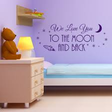fancy design ideas i love you to the moon and back wall art interior decorating we big paw print