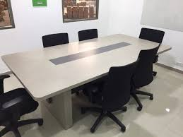 office conference table design. Wooden Rectangular Meeting Room Table, Warranty: 1 Year Office Conference Table Design E