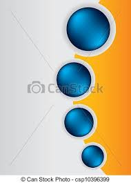 Brochure Graphic Design Background Cool Brochure Design Background Template With Blue Buttons