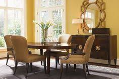 wood and leather dining room set see more check out the scalloped studs on the chair love this detail