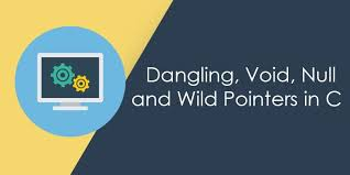 dangling void null and wild pointer
