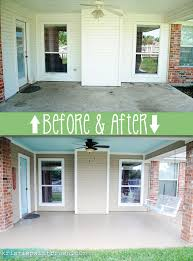 patio paint ideasHow to Paint a Porch Floor  Porch flooring Etchings and Porch