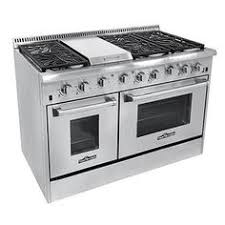 kitchenaid 48 range. thor kitchen 48-inch stainless steel professional gas range with 6 burners and griddle kitchenaid 48