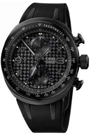 oris williams tt3 chronograph watch in all blackwatch shop mens oris