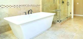 freestanding tub with end drain tubs relax in your new bath ideas hose t soaking vanity