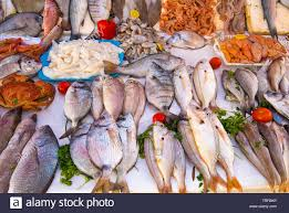 fresh fish, seafood from Atlantic ocean ...
