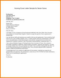 Nursing Cover Letters For Resumes Examples 100 example nursing cover letter cv patterns 35