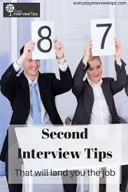 Advice For Second Interview Second Interview Tips Job Finance Second Interview Tips