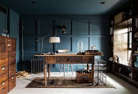 office paint colors.  Paint Rustic Office Paint Colors With Wooden Desk And Chair Also Dresser Intended O