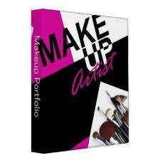 makeup artist pro portfolio appointment book vinyl binder