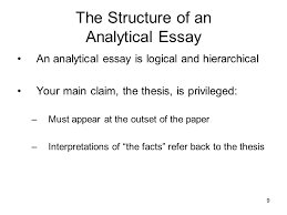 essay of science hath not a jew eyes speech analysis essay essay  the analytical essay ppt video online the structure of an analytical essay