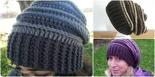 Slouch Hat Crochet Pattern Mesmerizing Riptide Slouch Hat [Free Crochet Pattern] Your Crochet