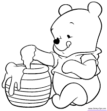 Baby Disney Coloring Pages Getcoloringpagescom