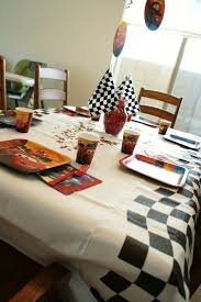 Cars Table Decorations 1000 Images About Carters 4th Birthday Party Cars 2 On Pinterest