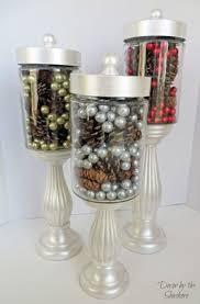 Apothecary Jars Christmas Decorations DIY Apothecary Jars Tutorial Decor By The Seashore 36