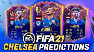 FIFA 21 - CHELSEA RATING PREDICTIONS ft. Werner, Ziyech & Havertz! - #FIFA21  Ultimate Team Chelsea - YouTube