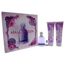 <b>Halloween</b> by <b>J. Del Pozo</b> for Women - 4 Pc Gift Set 3.4oz EDT ...