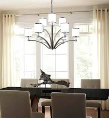 size of chandelier for dining table the size of your dining room table and room will size of chandelier for dining table