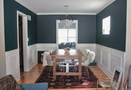 dining room blue paint ideas. Dining Room Two Tone Paint Ideas On Perfect Good Looking Navy Blue Fashionable Decorating Compact 2 Colors 38 Living U