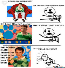 cereal guy blues clues. Beautiful Guy Cereal Guy Blues Clues Inside O