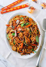 authentic pork lo mein   chinese