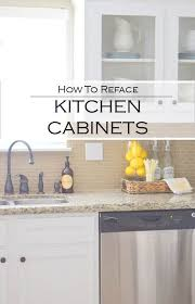 cabinet refacing white. Glass Cabinets, Cabinet Refacing, White Kitchen, Farmhouse Lemonade Bar Www. Refacing P