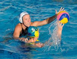 PHOTO GALLERY: U.S. Australia exhibition water polo game – Press Enterprise