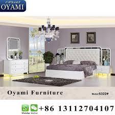 New Italian Luxury Design Fancy Bed Frame Bedroom Furnitur ...