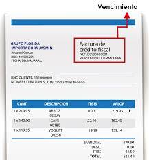 Formatos De Factura Factura Simple Republica Dominicana