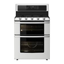 BETRODD Range Wdouble Oven And Gas Cooktop