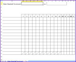Baseball Lineup Sheet Arlingtonmovers Co