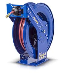 hose reel reels truck series hose reel with ez coil model ez tsh com eley