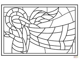 25 Zoeken Glas In Lood Tekening Kleurplaat Mandala Kleurplaat Voor