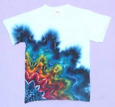 Different Tie Dye Patterns Simple Tie Dye Techniques RainbowBlack Rising Star TieDye Tshirts By