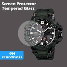 Casio G Shock Size Chart Screen Protector Tempered Glass For Casio Watch G Shock Protrek Edifice G Shock Baby G
