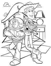 Small Picture Buzz And Woody Woody And Buzz Handshake Toy Story Coloring Page