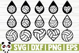 Browse our love volleyball images, graphics, and designs from +79.322 free vectors graphics. 15 Volleyball Teardrop Earrings Graphic By Creativedesignsllc Creative Fabrica