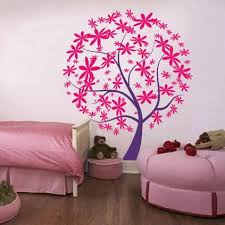 Wonderful Wall Designs For A Bedroom Teenage Girls With Regard To Bedroom